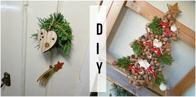 dekorace, vánoce, vánoční, vyrobte, levně, jehličí, stromeček