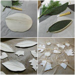 samotvrdnouci, samoschnouci,hlina, keramicka,keramika, listy, DIY,miska, ozdoba, jak vyrobit