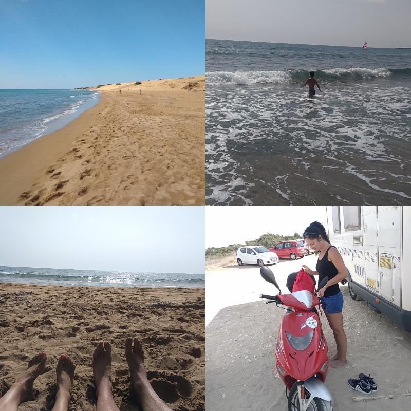 Řecko, ostrov,  Issos, jezero,Korission, výlet, skútr,pláž, koupání, vlny, nejkrásnější