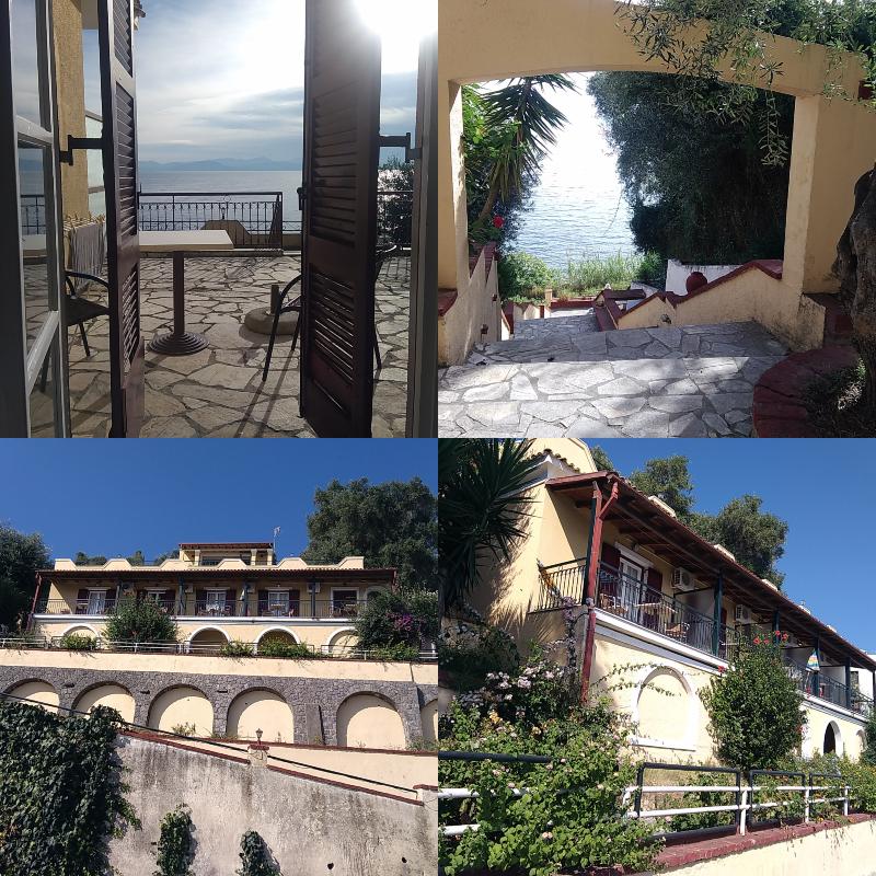 Korfu, Řecko, zajímavá, místa,dovolená, low, cost,ubytování, apartmán