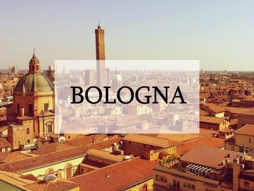 bologna, itálie, výlet, cestování, tipy